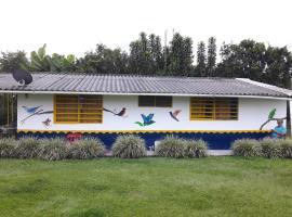 Finca Hotel La Cuyabrita, Pueblo Tapao (La Suiza yakınında)