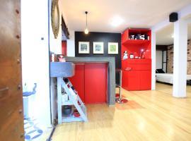 Comfortable and cozy studio 4 blocks from Condesa Homm