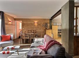Appartement dans un Chalet à Serre Chevalier, Ле-Монетье-ле-Бен (рядом с городом Le Serre Barbin)