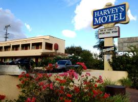 Harvey's Motel San Diego State University Area, San Diego (in de buurt van La Mesa)