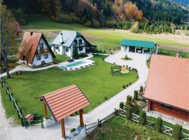Two-Bedroom Holiday Home in Jasenak, Jasenak (рядом с городом Krakar)