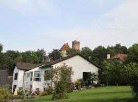 Apartment mit Burgblick im Grünen, Familie Held, Burgthann (Mimberg yakınında)