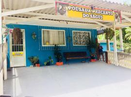 Pousada Recanto do Sagui, Morretes (Antonina yakınında)