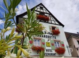 La Bonne Franquette, Villé (рядом с городом Maisonsgoutte)