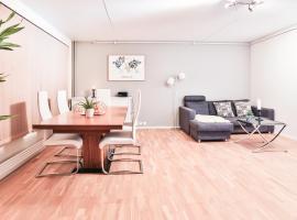 Fredrik's apartment in Oslo centre