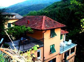 Fontana's House Relax, Valbravenna (Savignone yakınında)