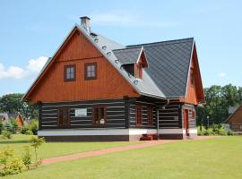 Holiday Villa Vrchlabi, Vrchlabí (Dolní Lánov yakınında)