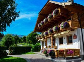 Pension Bacherhof, Mariapfarr (Unternberg yakınında)