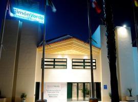 Hotel Apartamentos Simon Verde, Mairena del Aljarafe (Gelves yakınında)