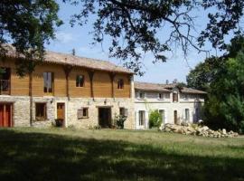 Les Chambres d'Hôtes de Bélinaire, Cazeneuve-Montaut (рядом с городом Boussan)