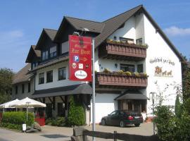 Gasthof zur Post Hotel - Restaurant, Breckerfeld (Im Dahl yakınında)