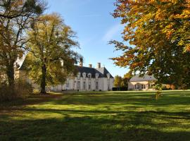 Chateau La Touanne Avec Piscine Chauffée - With Heated Swimming Pool, Baccon