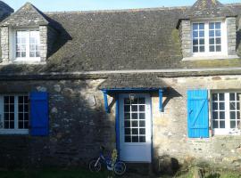 longere typiquement bretonne, Henvic (рядом с городом Taulé)