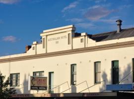 Australian Hotel Motel, Yass (Gunning yakınında)