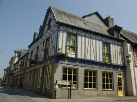 Logis Auberge Du Cheval Blanc, Châteaugiron (рядом с городом Domagné)