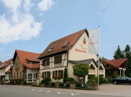 Ratsstube, Sinsheim (Tiefenbach yakınında)