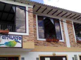 Casa Hotel Barranquero, Pueblo Tapao (La Suiza yakınında)