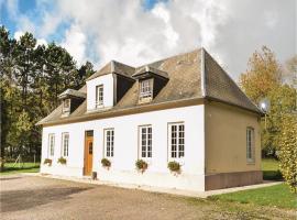 Three-Bedroom Holiday Home in Carville Pot de Fer, Carville-Pot-de-Fer (рядом с городом Berville)