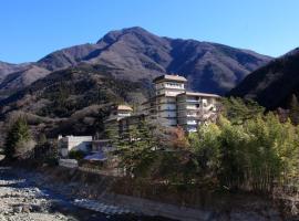 Shimobe Hotel, Minobu (Inokashira yakınında)