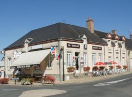 Hôtel de la Place, Germigny-des-Prés (рядом с городом Châteauneuf-sur-Loire)