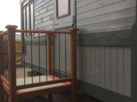 Ty capel cabin on wheels, Goodwick (рядом с городом Fishguard)
