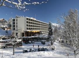 Hotel Central Résidence, Leysin