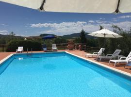 Agriturismo con piscina Alto Toscana, Ponteginori (Gello yakınında)