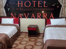 Hotel Navarra, Riobamba (Sicalpa yakınında)