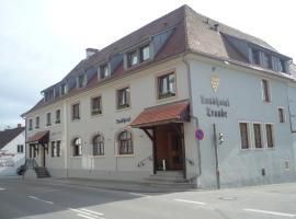 Landhotel Traube, Konstanz (Wallhausen yakınında)