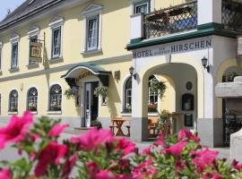 Hotel zum goldenen Hirschen, Göstling an der Ybbs