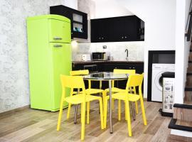 Sventenius Apartment, Vecindario