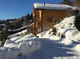 Luxury Chalet in Mollens, close to Crans-Montana, Mollens