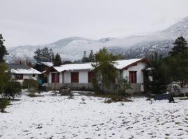 Cabañas Aldea de Montaña, Lago Puelo (El Bolsón yakınında)