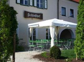 Schlosshof anno 1743, Wolnzach (Rohrbach yakınında)