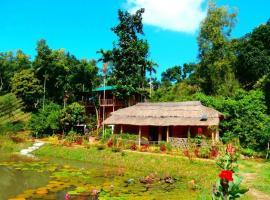 Shanti Bari (শান্তিবাড়ী)-Resort, Sreemangal (рядом с городом Dharmanagar)