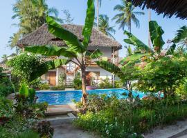 Miramont Retreat Zanzibar, Kilima Juu Pwani (in de buurt van Pwani Mchangani)
