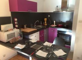 Appartement Duplex, Баньер-де-Люшон (рядом с городом Saint-Mamet)