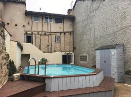 Gite Zeus, piscine, 32190, Vic-Fezensac