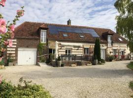 la longère champenoise, Prugny (рядом с городом Bucey-en-Othe)
