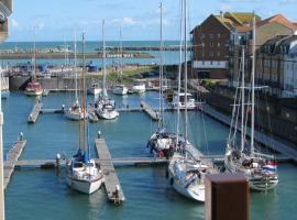 Luxurious, sea-facing, harbour apartment, Eastbourne