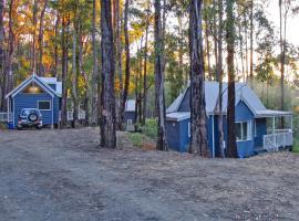 Silvertop Cottages, Erica (Walhalla yakınında)