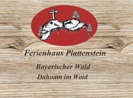 Ferienhaus Plattenstein, Kirchberg (Innernzell yakınında)