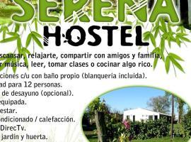 Hostel Serena, San Benito (Crespo yakınında)