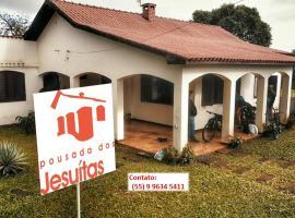 Pousada dos Jesuítas, São Nicolau (São Luís Gonzaga yakınında)