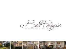 Bel Poggio Country House Standard and Luxury, Roma (Marcigliana yakınında)