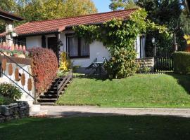 Ferienhaus Kahl, Ilmenau (Elgersburg yakınında)