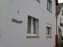 Gästezimmer Fuchs