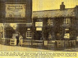 The Plough Inn, Honiley (рядом с городом Wroxall)
