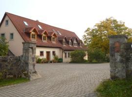 Nussbaumhof Ferienwohnung, Geiselwind (Scheinfeld yakınında)