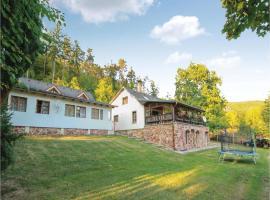 One-Bedroom Holiday Home in Sykorice, Sýkořice (Zbečno yakınında)